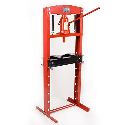 20 ton heavy duty industrial hydraulic workshop garage standing bench shop press ebay Hydraulic bench press